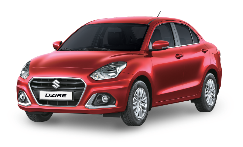 Dzire_Front_Colours_Gallent-red